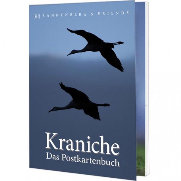 Postkartenbuch 'Kraniche'