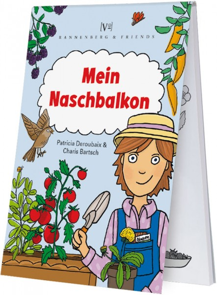 """Spieleblöckchen """"Mein Naschbalkon"""""""