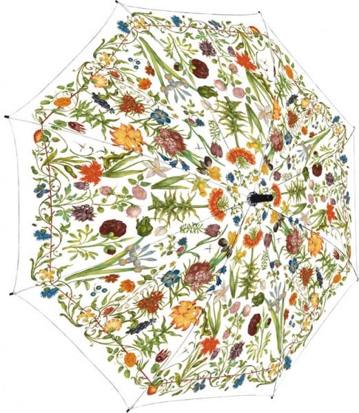 Regenschirm 'Gartenblumen'