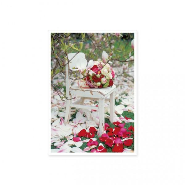 """Postkarte """"Magnolienblütenmeer"""""""