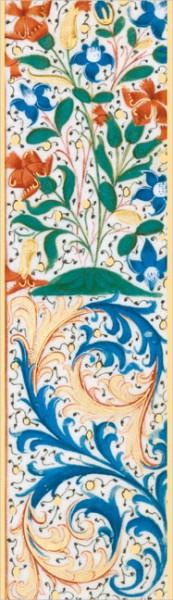 """Lesezeichen Gold """"Stundenbuch Ludwigs von Orleans"""""""