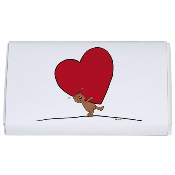 Schokoladentäfelchen 'Für dich'