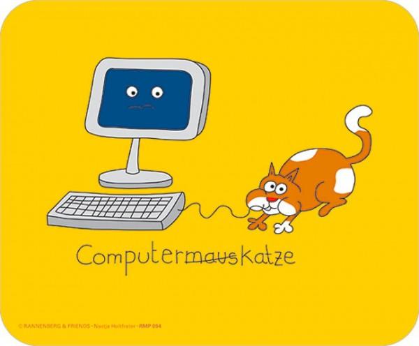 Maus-Pad 'Computerkatze'