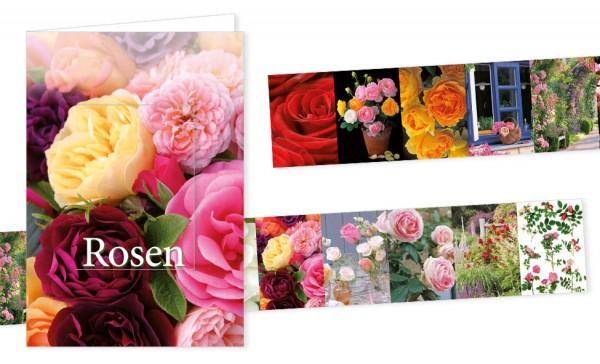 "Türchenkarte ""Rosen"""
