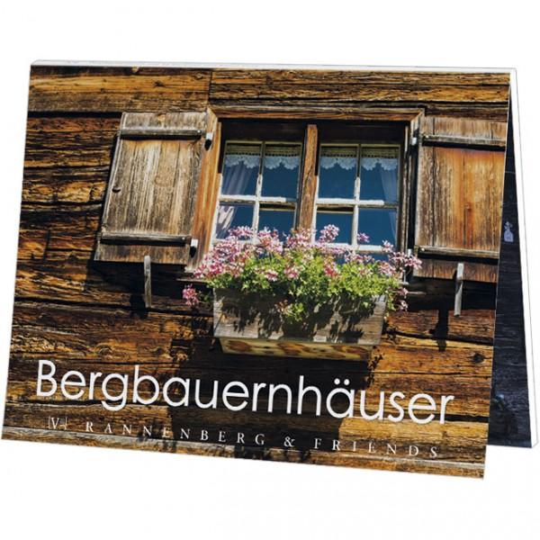 """Postkartenbuch """"Bergbauernhäuser"""""""