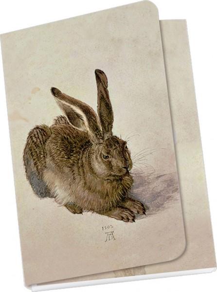 Taschennotizblöckchen 'Junger Hase'