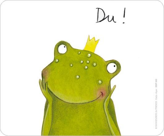 """Maus-Pad """"Du Frosch"""""""