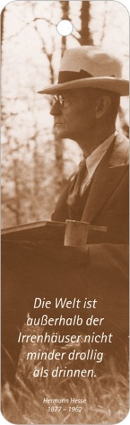 """Lesezeichen """"Hermann Hesse"""""""