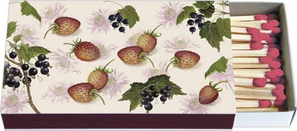Zündholz-Schachteln 'Erdbeeren und Johannisbeeren'