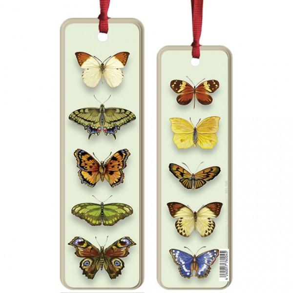 """Lesezeichen """"Schmetterlinge"""""""