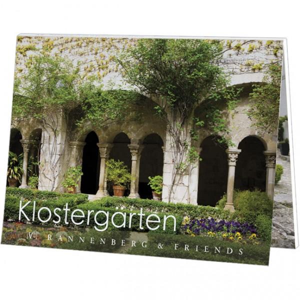"""Postkartenbuch """"Klostergärten"""""""