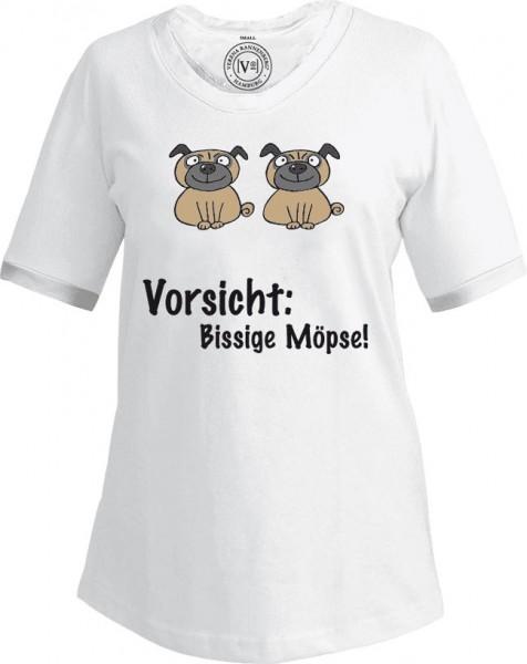 "T-Shirt ""Bissige Möpse"""