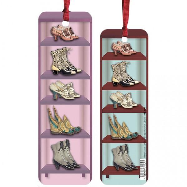 """Lesezeichen """"Historische Schuhe"""""""
