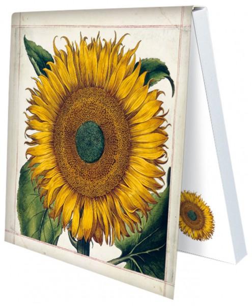 Klebezettel 'Sonnenblume aus dem Garten von Eichstätt'