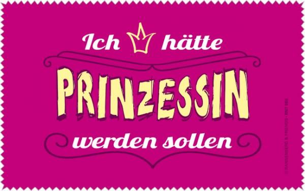 Netbooktuch 'Prinzessin wäre schön'