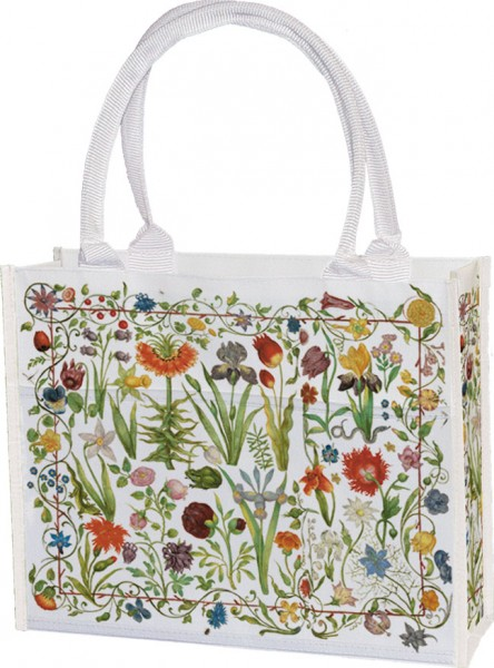 Einkaufstasche 'Gartenblumen'