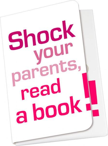 Taschennotizblöckchen 'Shock your parents'
