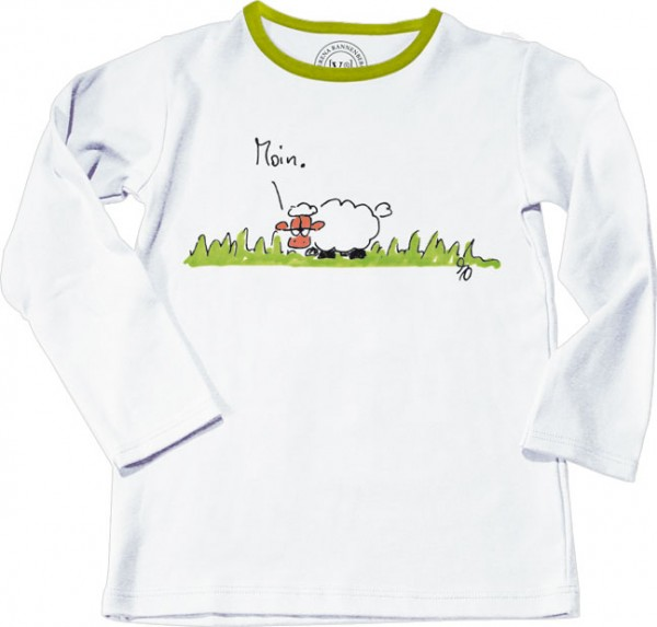 "T-Shirt Kinder 98 ""Moin"""