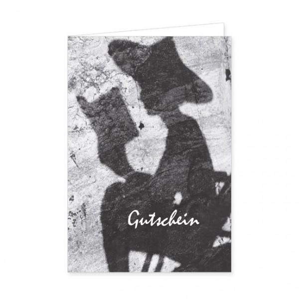 """Geschenk-Gutschein """"Silhouette"""""""