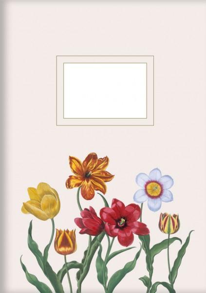 Kladden A5 'Tulpen aus dem Garten von Eichstätt'