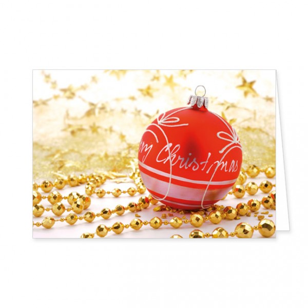 """Doppelkarten X-Mas """"Weihnachtszauber"""""""