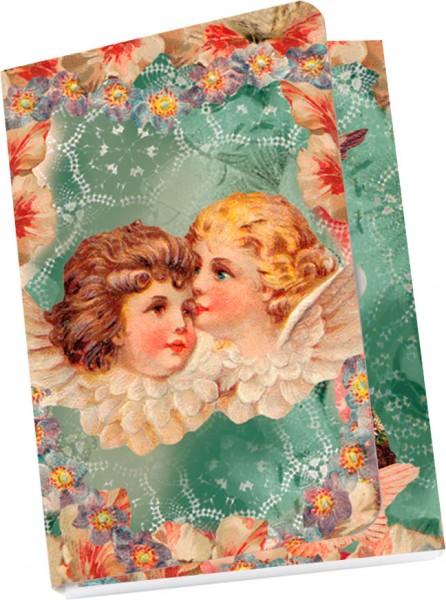 Taschennotizblöckchen 'Engelgeflüster'
