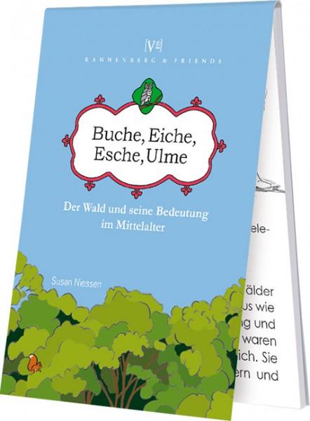 """Blöckchen """" Buche, Eiche, Esche, Ulme """""""