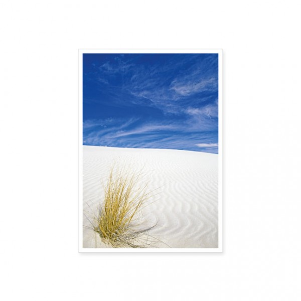 "Postkarte ""Weißer Sand"""