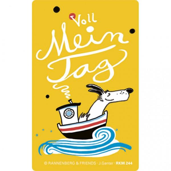 Magnet 'Voll mein Tag' von Judith Ganter