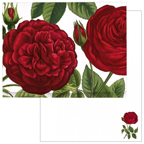 """Schreib-Set """"Rote Rosen"""""""