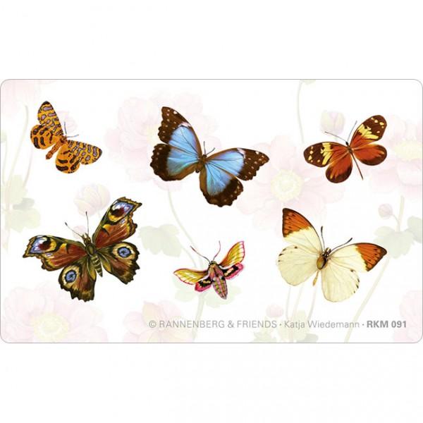 Magnete 'Bunte Schmetterlinge'