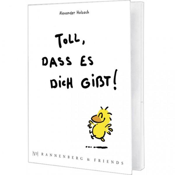 Postkartenbuch 'Toll, dass es dich gibt' von Alexander Holzach