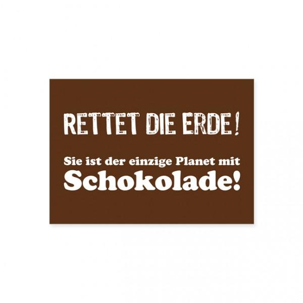 """Postkarte """"Rettet die Erde"""""""