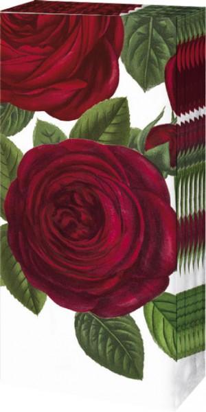 """Taschentücher """"Rote Rosen"""""""