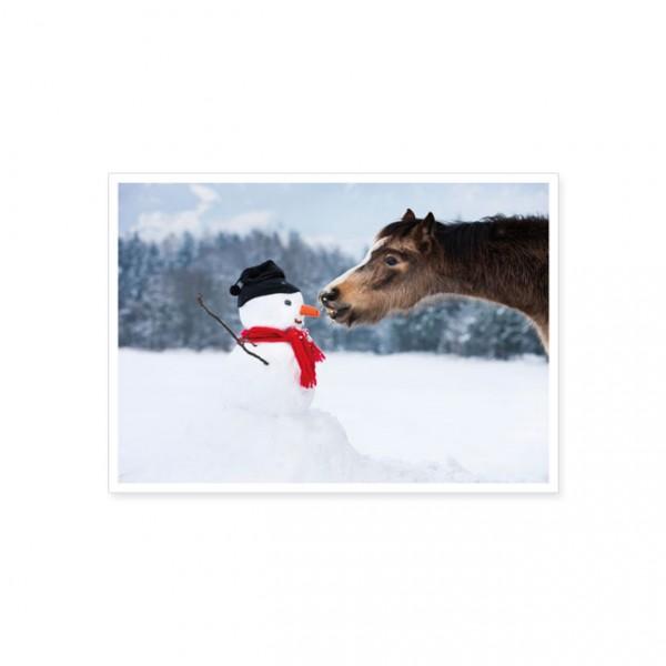"Postkarte ""Lecker Möhreneis"""