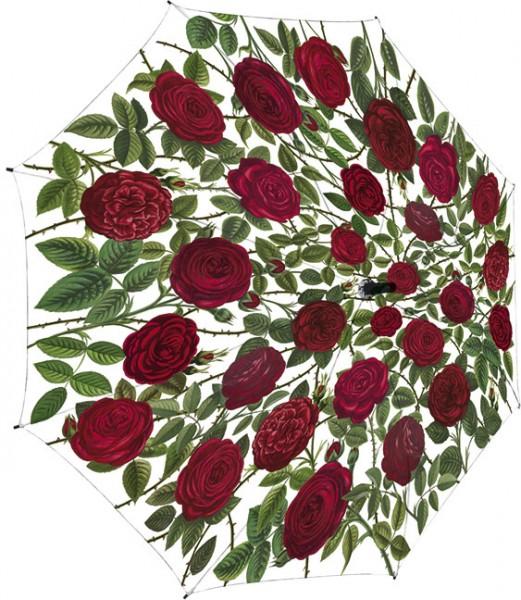 """Regenschirm """"Rote Rosen"""""""