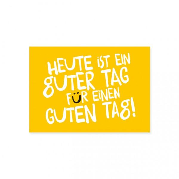 """Postkarte """"Guter Tag"""""""