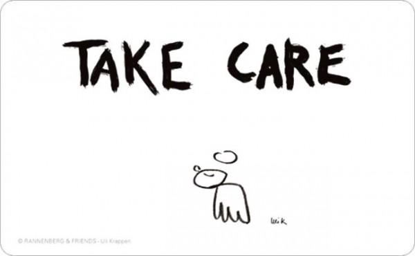 Frühstücksbrettchen 'Take Care'