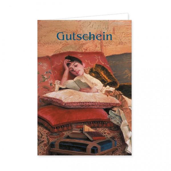 """Geschenk-Gutschein """"Die Leserin"""""""