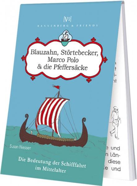 """Blöckchen """"Blauzahn, Störtebecker, Marco Polo & die Pfeffersäcke"""""""