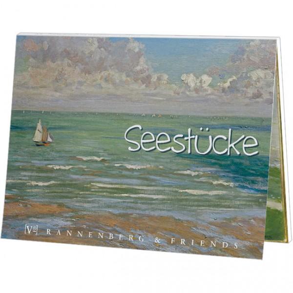 "Postkartenbuch "" Seestücke """