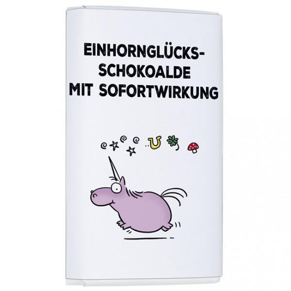 Schokoladentäfelchen 'Glücksschokolade' von Alexander Holzach