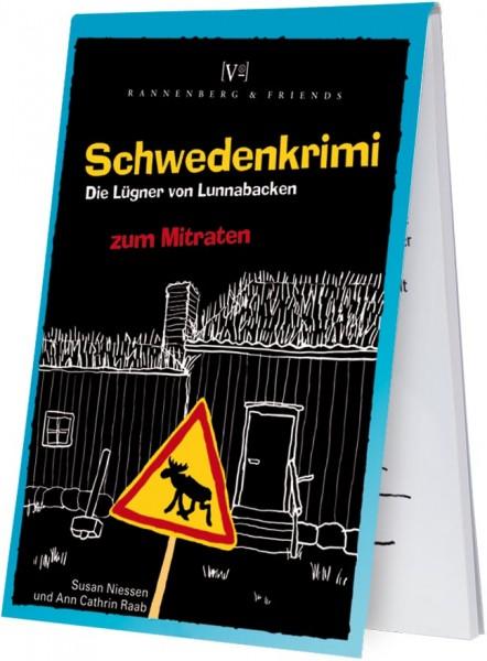 """Krimiblöckchen """"Schwedenkrimi - Die Lügner von Lunnabacken"""""""