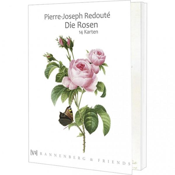 Postkartenbuch 'Redouté Rosen'