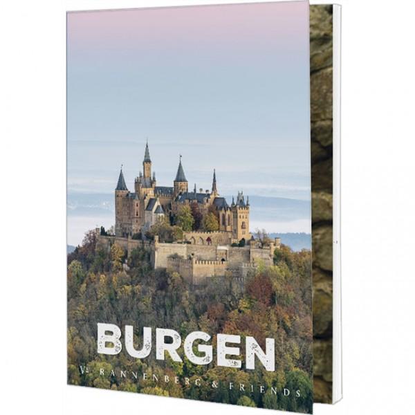 """Postkartenbuch """"Burgen"""""""