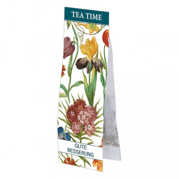 Tea Time 'Gute Besserung - Gartenblumen'