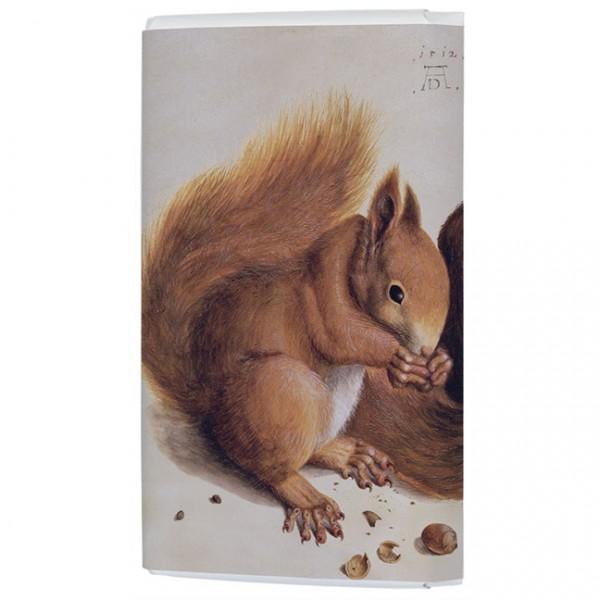 Schokoladentäfelchen 'Eichhörnchen' von Albrecht Dürer