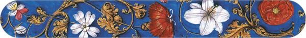 Nagelfeilen 'Flämische Buchmalerei, Blumenornamente'