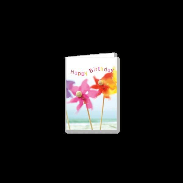 """Mini-Doppelkarte """"Viel frischen Wind"""""""