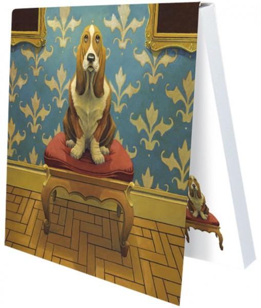 "Klebezettel ""Doggs-Bunte Hunde / Where Beagles Dare"""